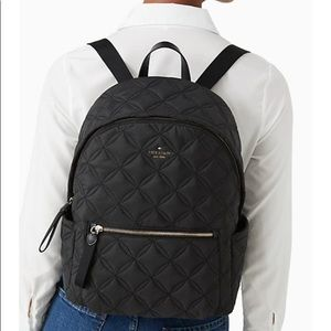 """NWT! Kate Spade ♠️ Chelsea """"The Little Better Quil"""" Backpack!"""